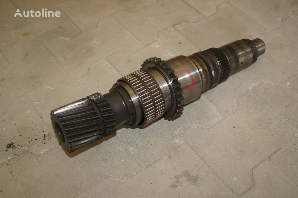 VOLVO ISHIFT / GEARBOX MAIN SHAFT / / WORLDWIDE DELIVERY power take off shaft for VOLVO FH FM / RENAULT MAGNUM PREMIUM DXI tractor unit