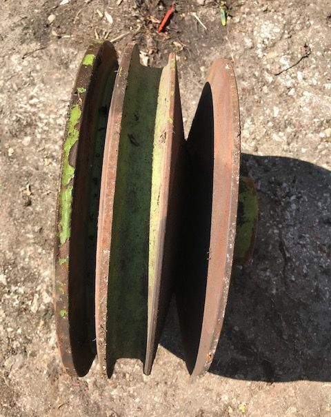 pulley for CLAAS Dominator  tractor