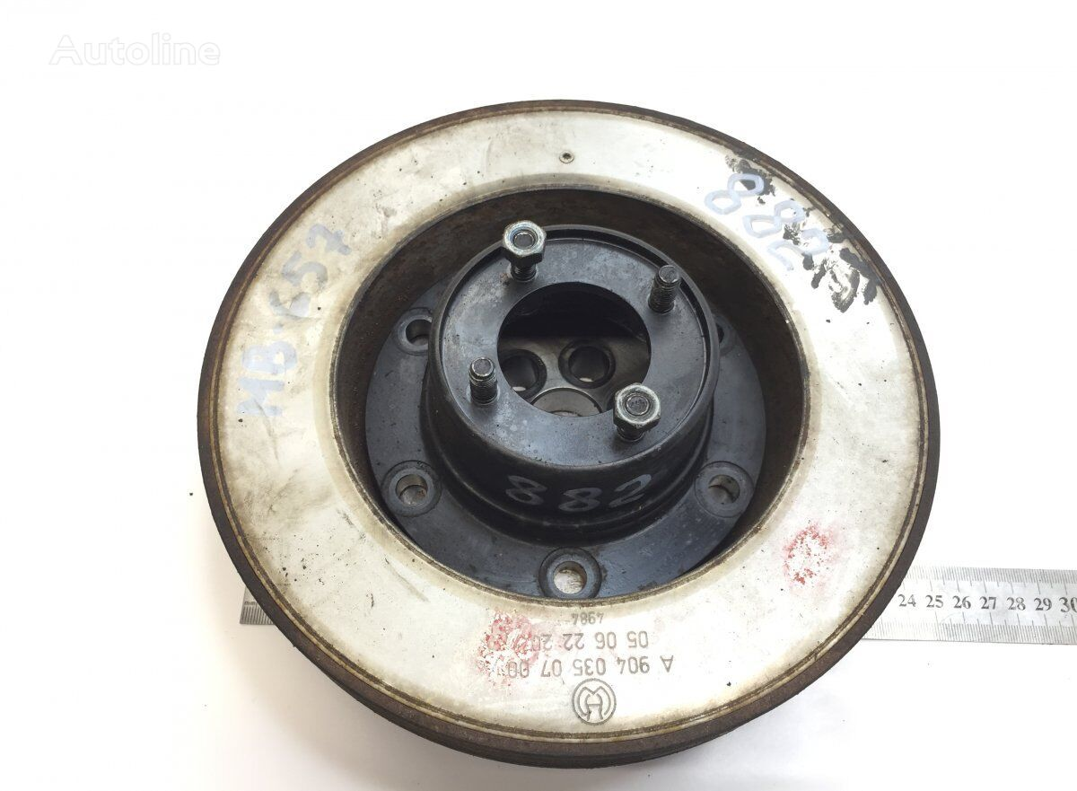 pulley for MERCEDES-BENZ Atego 2 (2004-) tractor unit