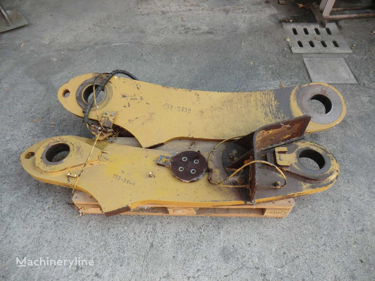 LINK As RH for High Lift machine quick coupler for CATERPILLAR  988H BXY01112 wheel loader