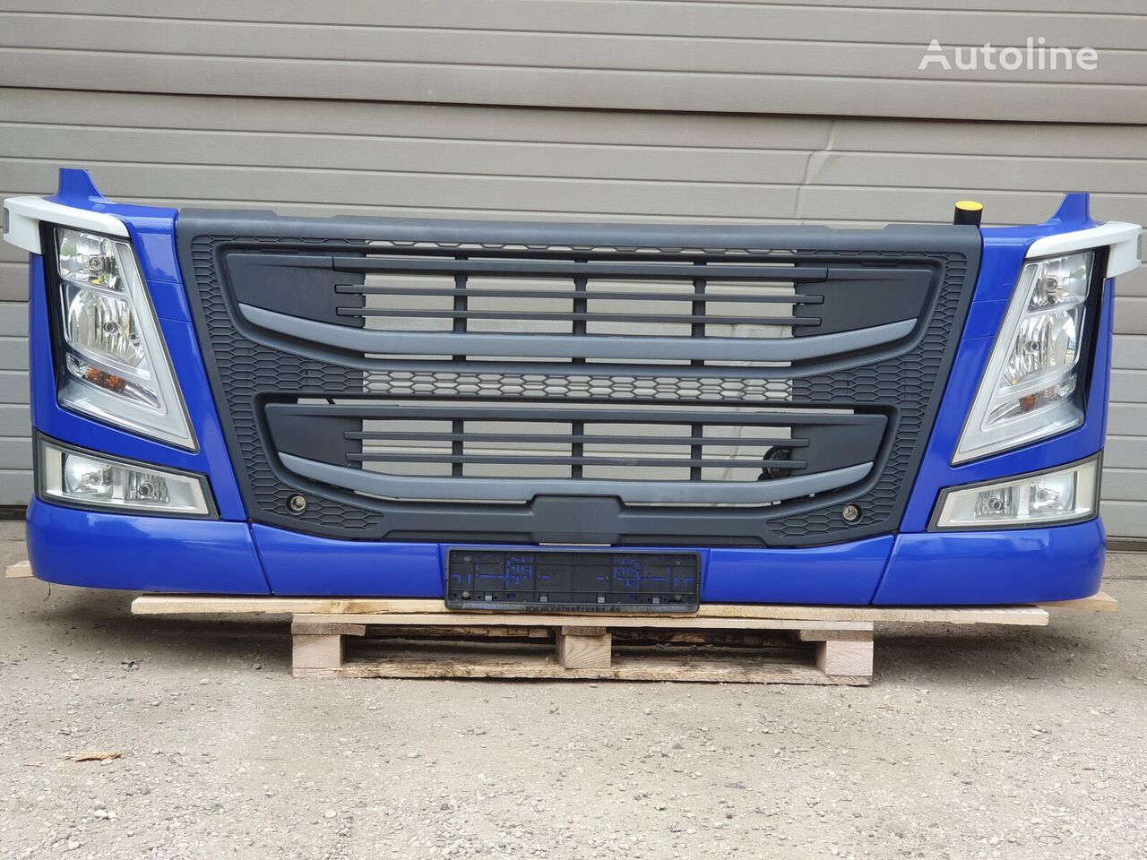radiator grille for VOLVO FM4 tractor unit