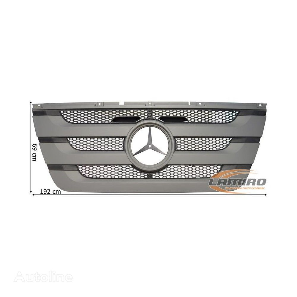new MEGA.S GRILL (9437501518) radiator grille for MERCEDES-BENZ ACTROS MP3 MEGA SPACE (2008-2011) truck