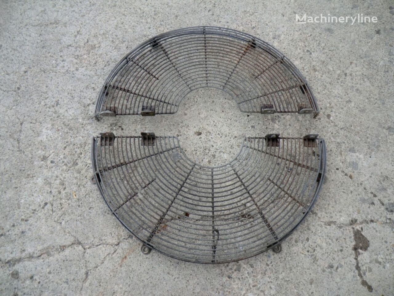 GUARD AS FAN radiator grille for CATERPILLAR 963C 2DS01270 wheel loader