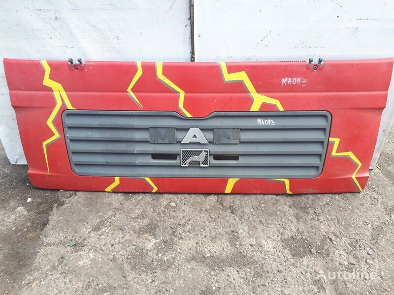 MAN (81611100053) radiator grille for MAN TGA (2000-2008) truck