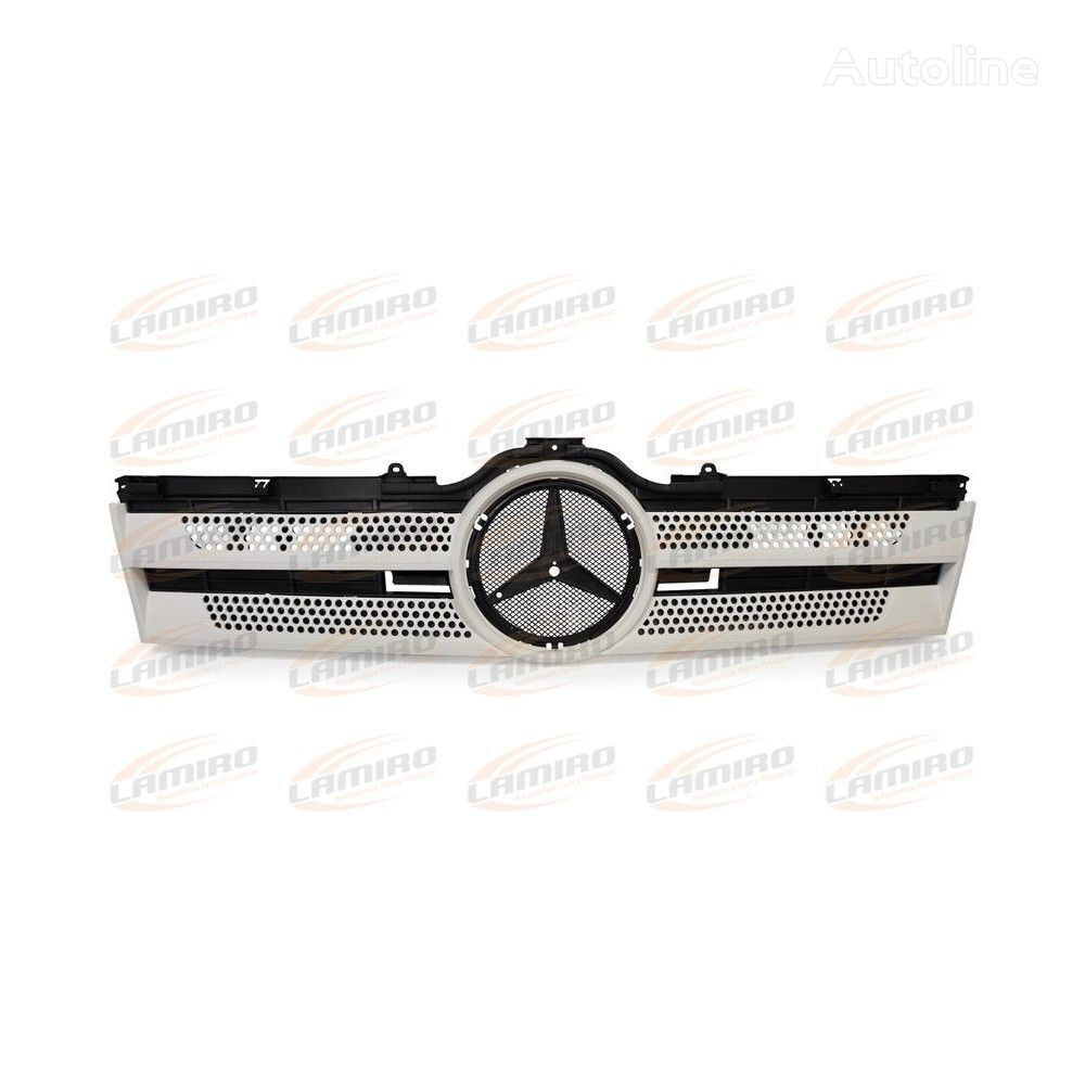 new MERC ACTROS MP4 FRONT GRILLE radiator grille for MERCEDES-BENZ ACTROS MP4 STREAM SPACE (2012-) truck
