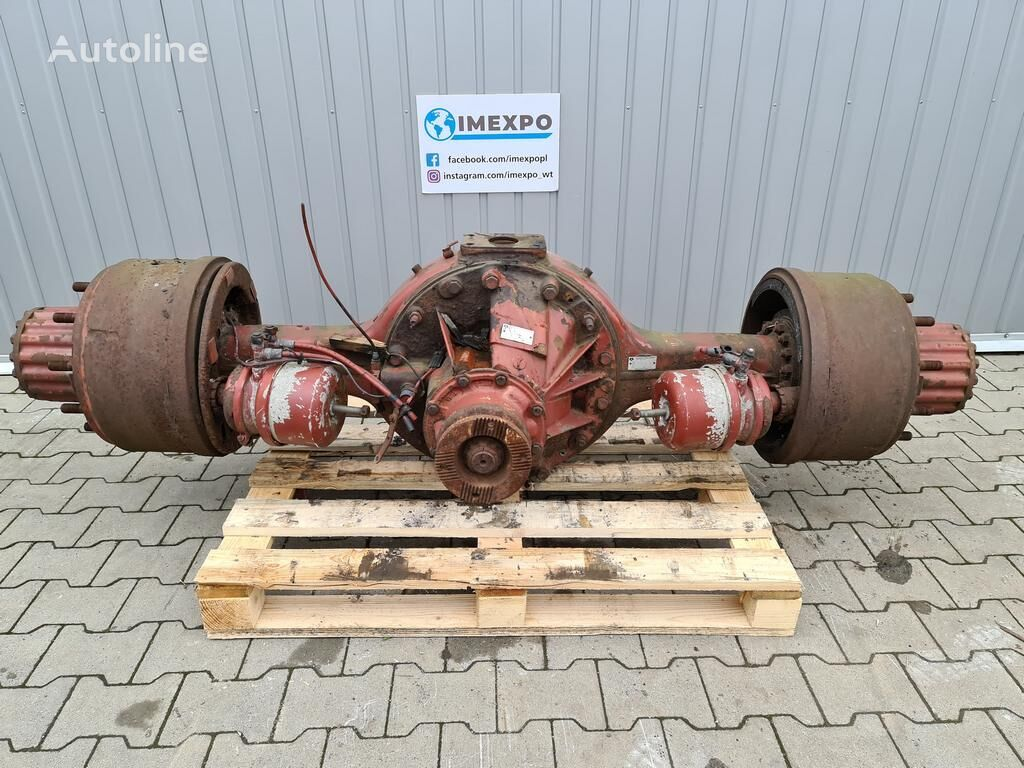 ROCKWELL 180E ratio: 1/307 / REAR AXLE / DRUM / (7170415) rear axle for IVECO EUROTECH / EUROSTAR tractor unit
