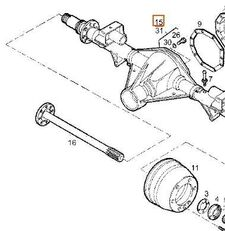 Palier Trasero Derecho Iveco Daily I 40-10 W (7169192) rear axle for IVECO Daily I 40-10 W truck