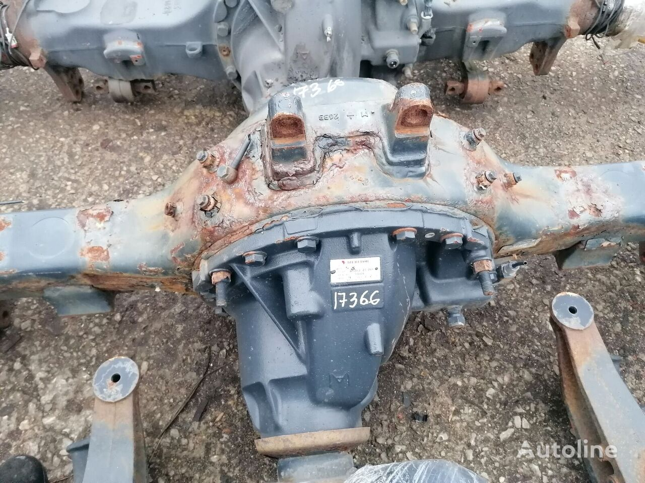 IVECO (ms17x ratio 2,85) reducer for tractor unit
