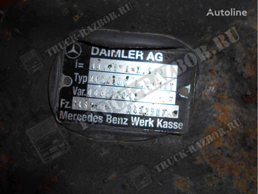 zadnego mosta reducer for MERCEDES-BENZ 2533 tractor unit