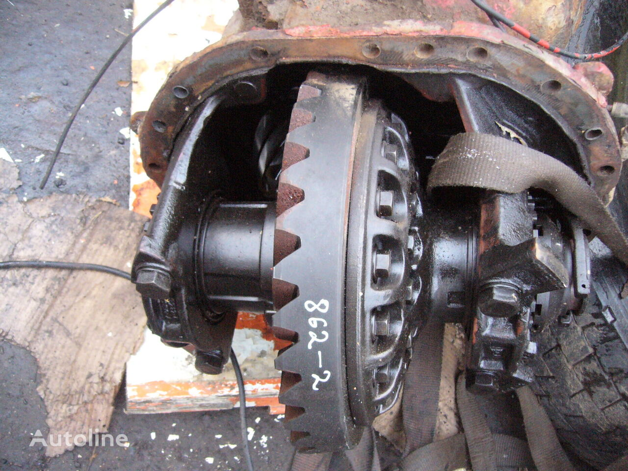 middle axle differencial, RTS2370A, Ratio 4.13 reducer for VOLVO FH16 tractor unit