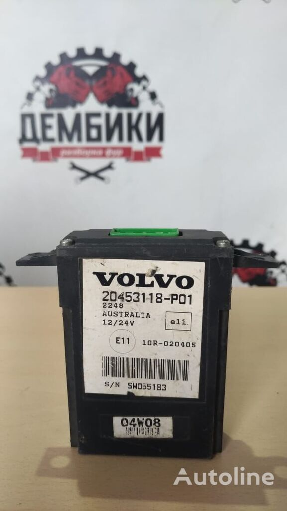 pereklyucheniya povorotnikov relay for VOLVO FH truck