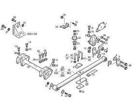 Kit Reparacion Abarcon Iveco Stralis AS 440S48 (41032511) repair kit for IVECO Stralis AS 440S48 tractor unit