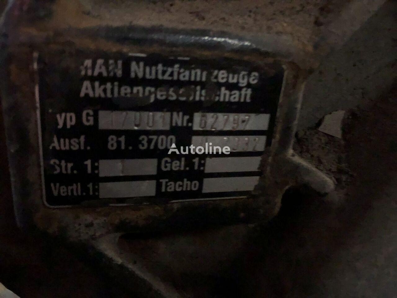 MAN 17001 62797 retarder for tractor unit