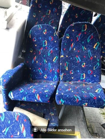 seat for MAN A20, A21,A23 und A26 bus