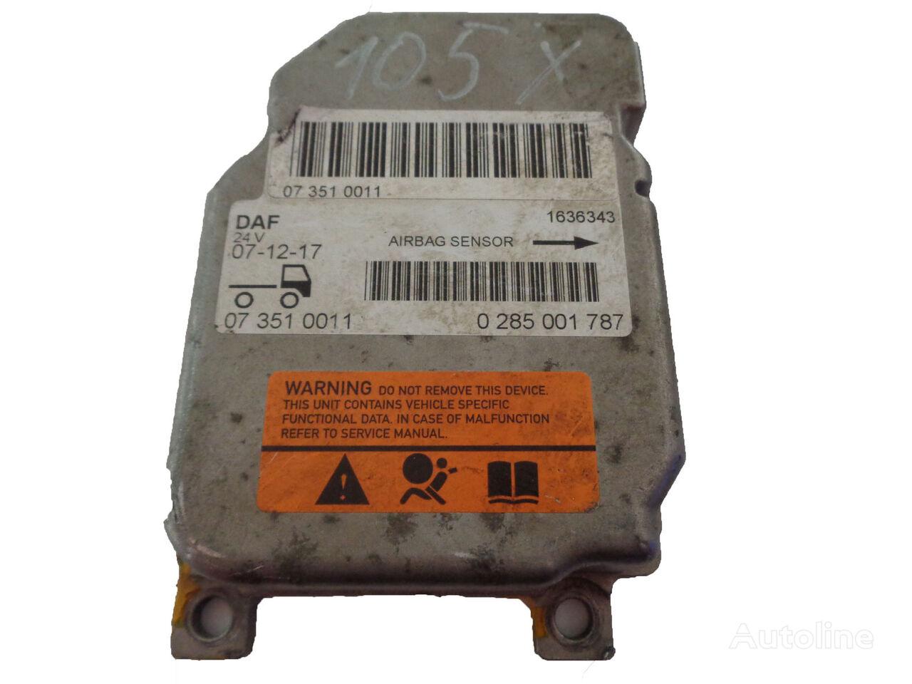 DAF AIRBAG Nr: 1636343 sensor for DAF XF 105 tractor unit