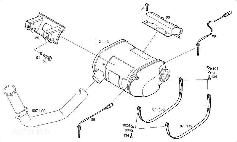 new IVECO sensor for IVECO STRALIS truck