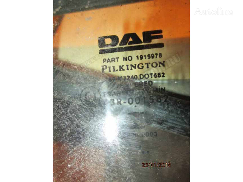 (1676966) side window for DAF tractor unit