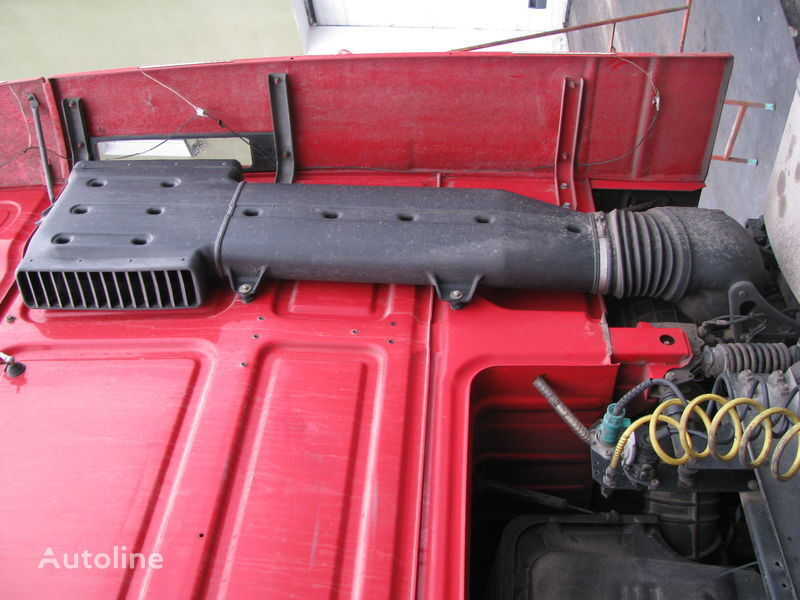 silencer corrugation for DAF tractor unit