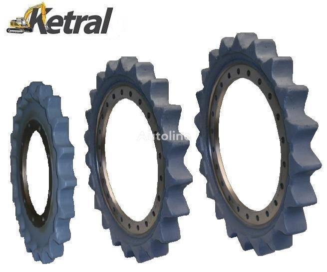 JCB Sprocket - Kettenrader DCF slewing ring for JCB 210 excavator