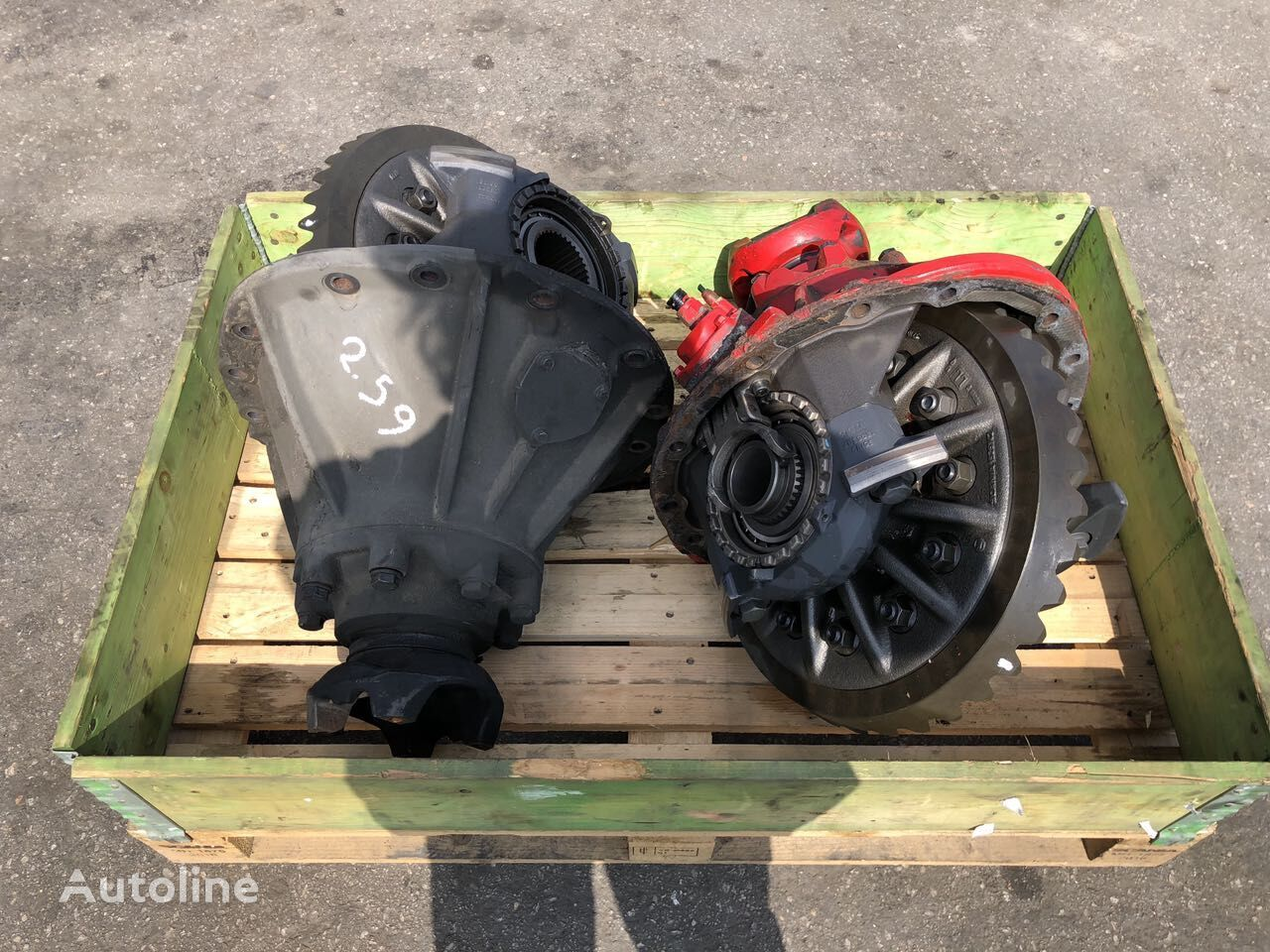 Used Diff  Group spare parts for SCANIA tractor unit
