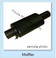 Muffler / Tube spare parts for CATERPILLAR 631D, 69D, 768C compact track loader