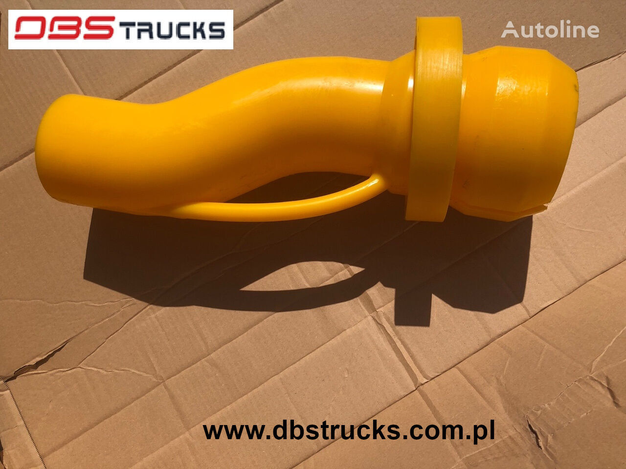 Kolanko spowalniające - poliuretanowe, Brake bend from polyurethane spare parts for automobile
