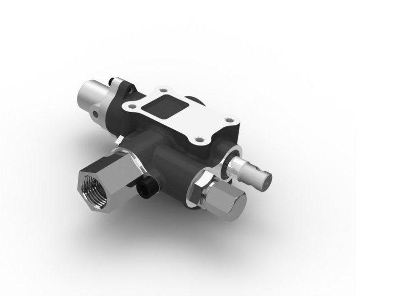 Raspredelitelnyy klapan AVSTRIYa na gidravlicheskiy bak 140l/min spare parts for tractor unit