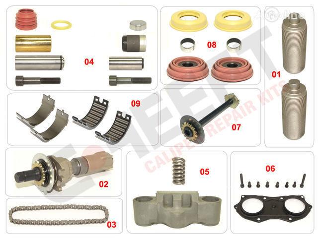 knorr wabco VOLVO, IVECO.RVI.MB.SAF.BPW spare parts for VOLVO, IVECO.RVI.MB.SAF.BPW truck