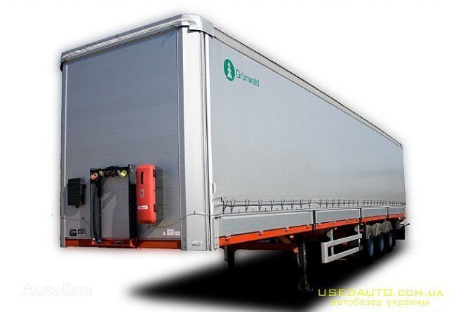 Razborka spare parts for semi-trailer