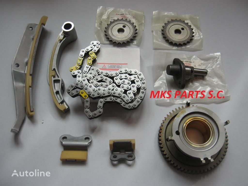 TIMING CHAIN KIT - ROZRZĄD ORYGINAŁ spare parts for MITSUBISHI FUSO CANTER 3.0 truck