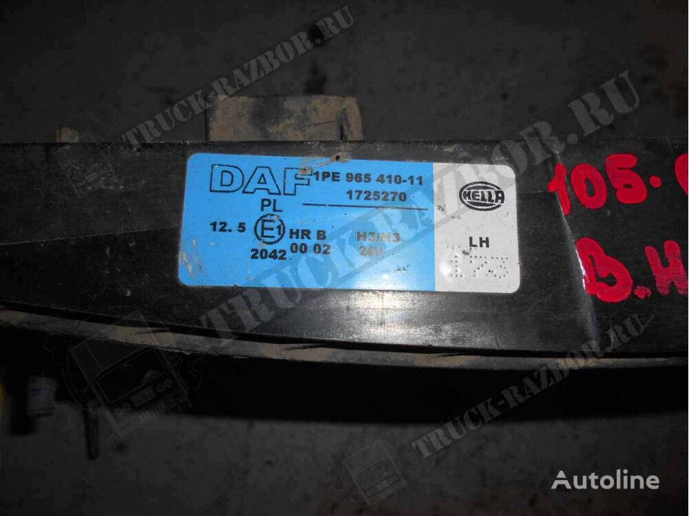korpus PTF, L (1725270) spare parts for DAF tractor unit