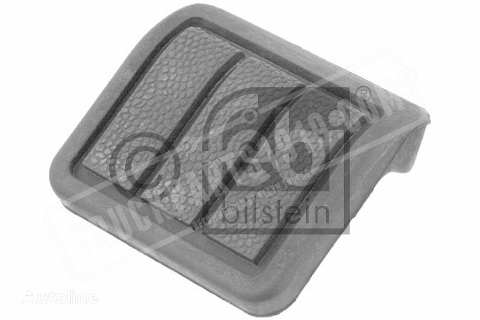 Pedal pad for clutch- and brake pedal FEBI BILSTEIN (8144663) spare parts for truck