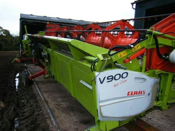 cutting bar 9m. b/u zapchasti dlya zhatki kombayna / used spare parts CLAAS spare parts for CLAAS LEXION V 900 VARIO combine-harvester