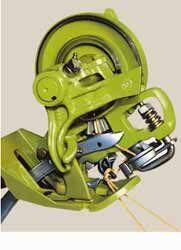 SEKCIYa VYaZALNOGO APARATA SLAAS CLAAS (000 000 087 0) spare parts for CLAAS baler