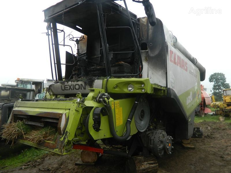 damaged b/u zapchasti/ used spare parts spare parts for CLAAS LEXION 600 combine-harvester