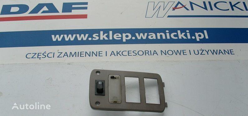 Panel tylny, kontrolka, sterownik ogrzewania WEBASTO, COVER PLATE WEBASTO  DAF spare parts for DAF Cf 65, 75, 85 tractor unit
