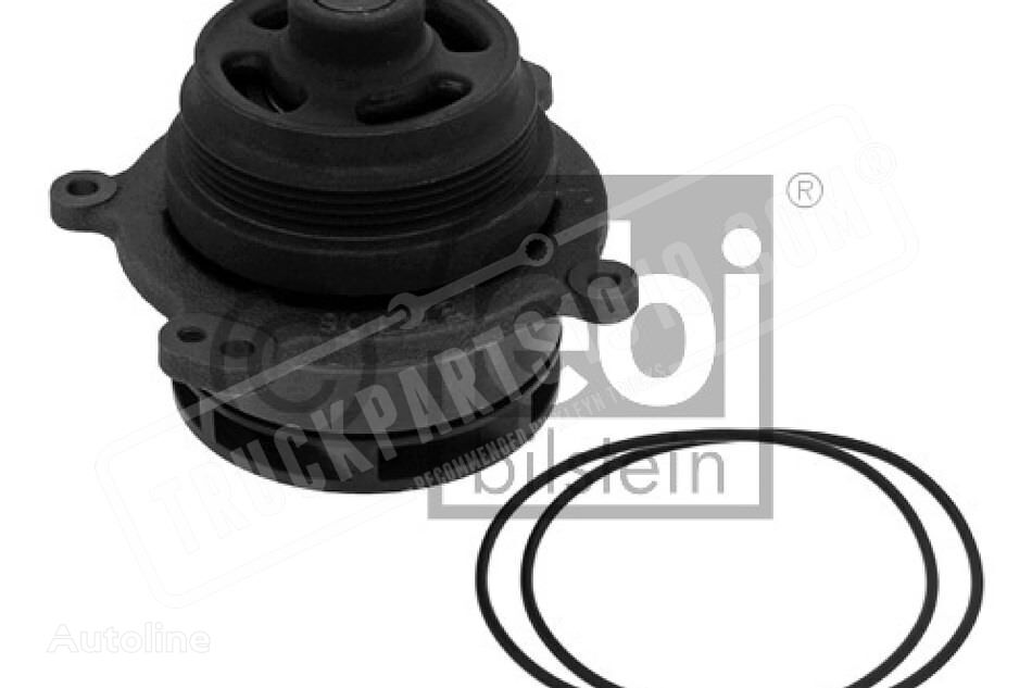 Water pump with seal rings FEBI BILSTEIN spare parts for truck