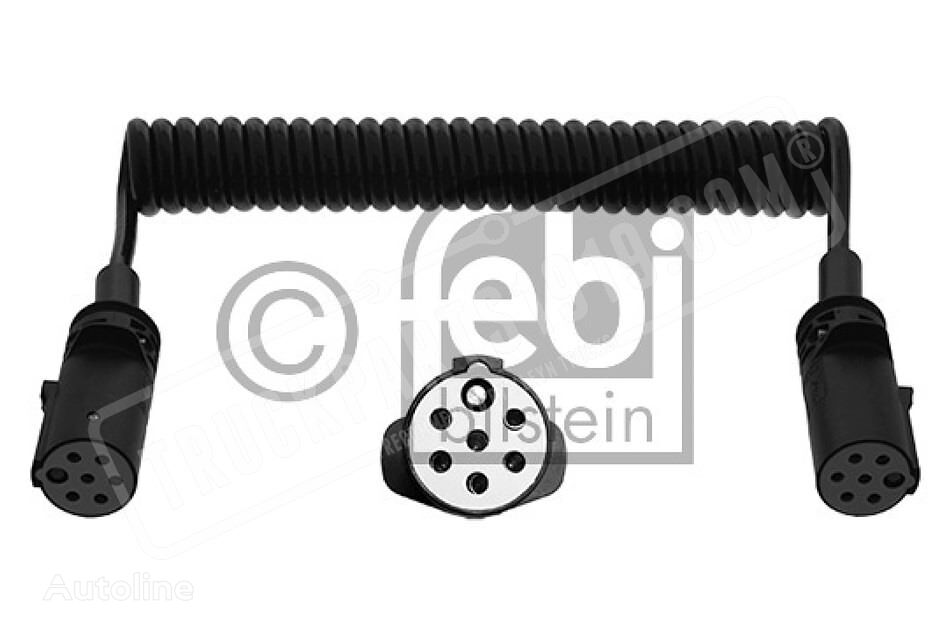 Electrical coil with plastic connector s FEBI BILSTEIN spare parts for truck