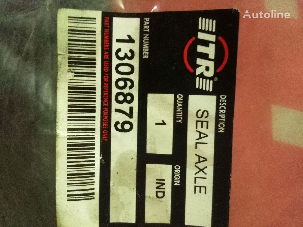 Salnik zadney stupicy  ITR spare parts for excavator