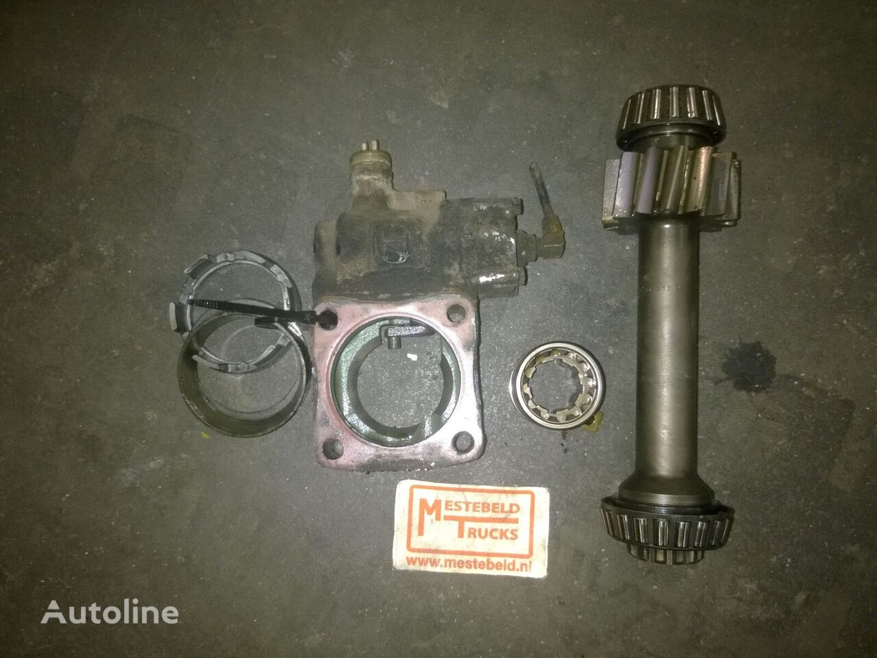 PTO + as MAN spare parts for MAN PTO + as 18.232 truck