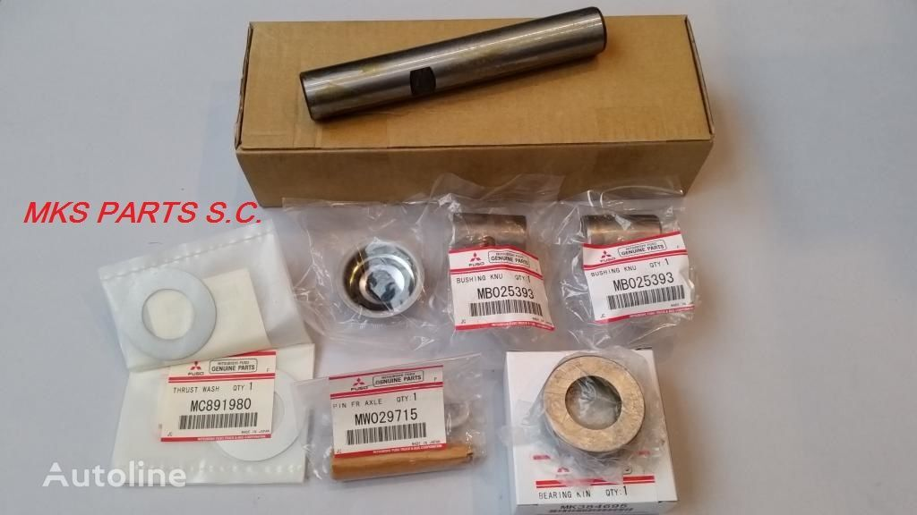 new - ORIGINAL KING PIN REPAIR KIT - ZESTAW ZWROTNICY ORYGINAŁ spare parts for MITSUBISHI CANTER FUSO  truck