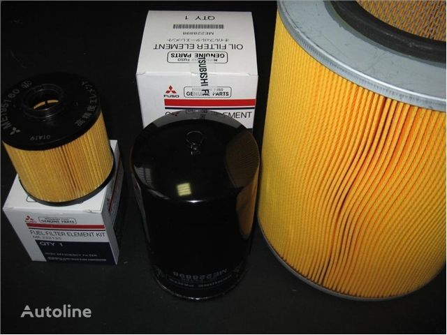 new - FILTERS KIT- FILTRY ZESTAW spare parts for MITSUBISHI ZESTAW FILTRÓW MITSUBISHI FUSO 6C18, 7C18 ZESTAW truck