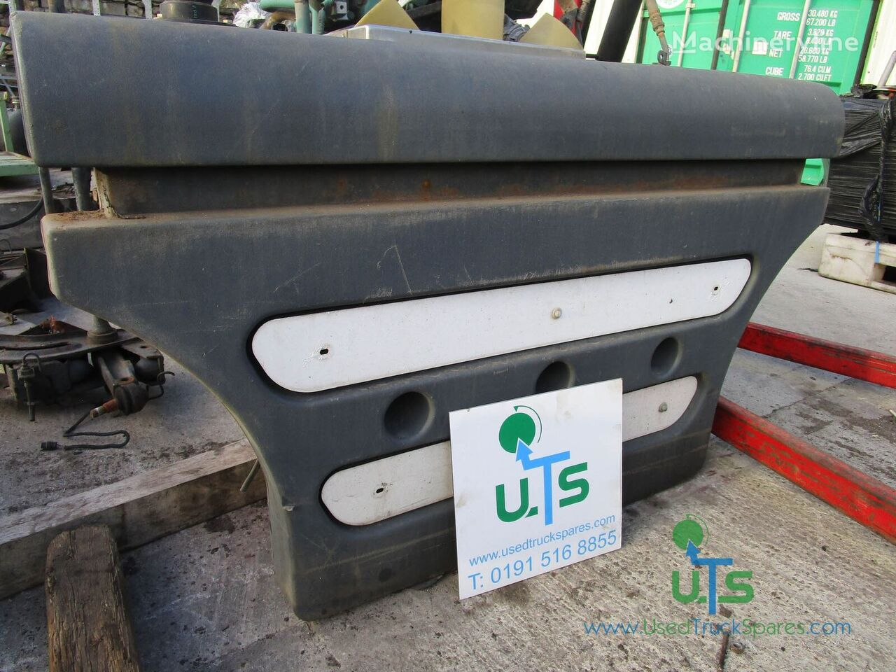 WATER TANK SCHMIDT spare parts for SWINGO 200 LHS road cleaning equipment