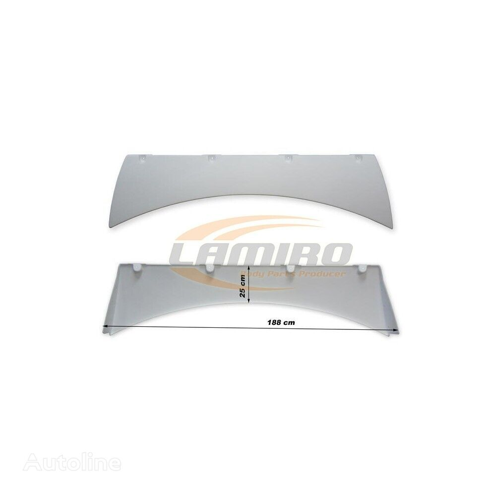 new DAF 105 XF SUPER SPACE CAB. ROOF SPOILER spoiler for DAF XF105 truck