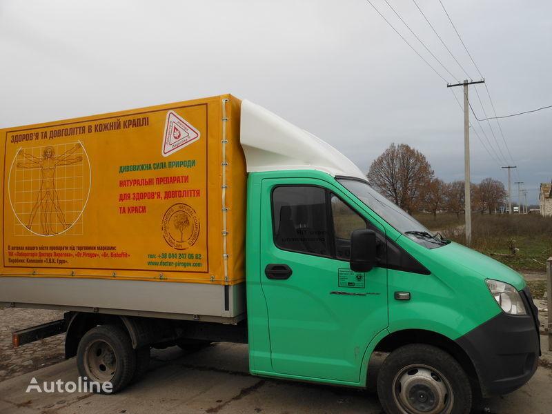 new GAZ spoiler for GAZ NEXT truck