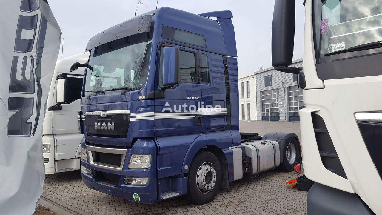 new MAN XXL spoiler for MAN tractor unit