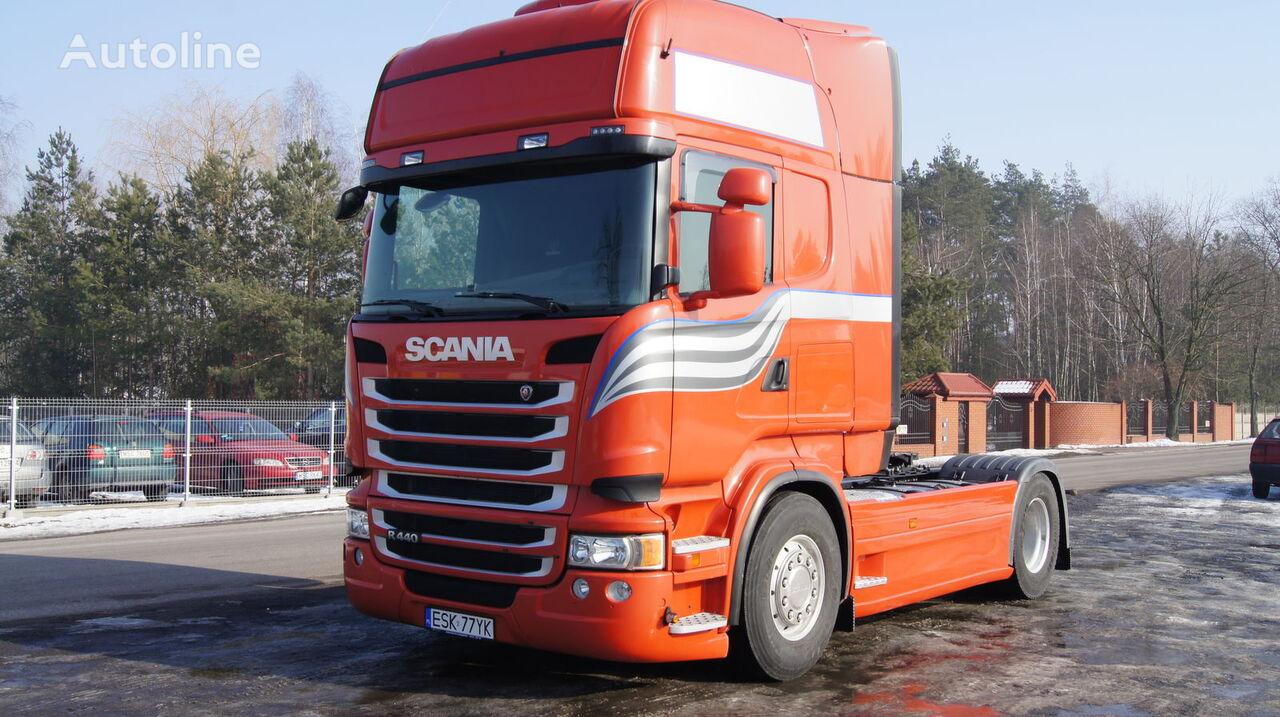 new SCANIA zabudowy międzyosiowe osłony aeropakiet między osiowe Multi-Plas spoiler for SCANIA R tractor unit