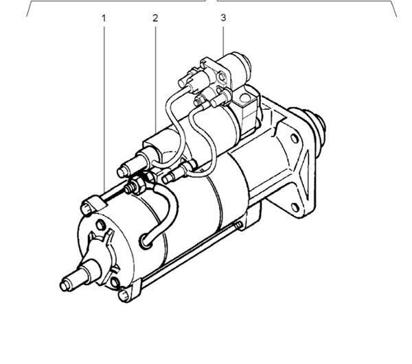 Motor Arranque Renault Premium Distribution 420.18 (5010508380) starter for RENAULT Premium Distribution 420.18 truck