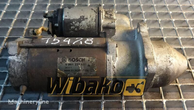 Starter Bosch 0001231008 starter for 0001231008 other construction equipment