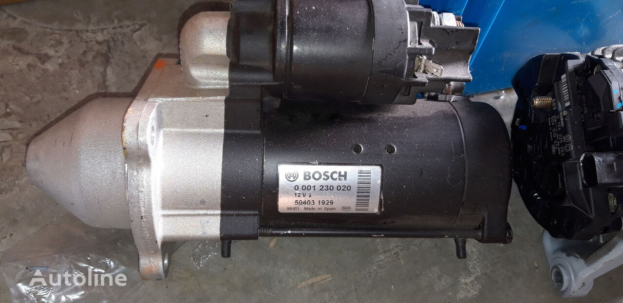 new BOSCH starter for IVECO Daily truck